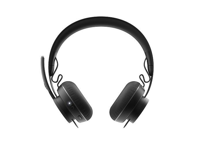 Logitech Zone Wireless Front auriculares teletrabajo periféricos