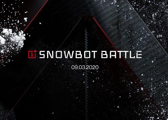 OnePlus Snowbot Battle robots 5G