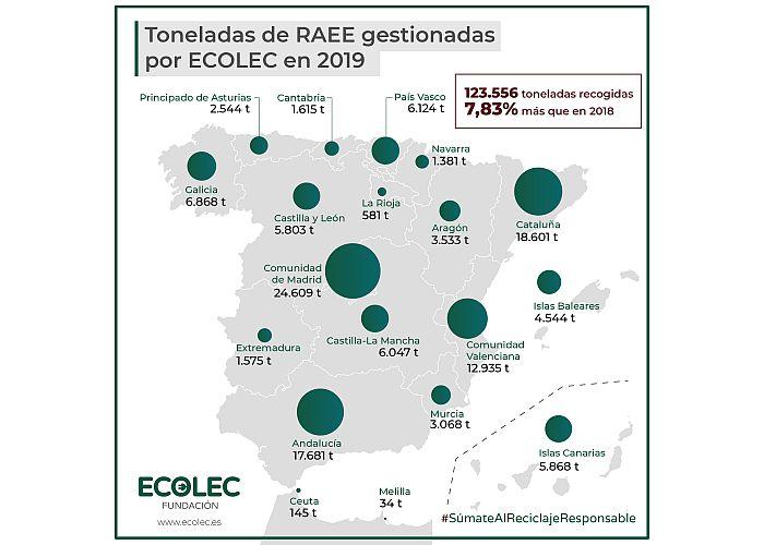 RAEE Ecolec 2019