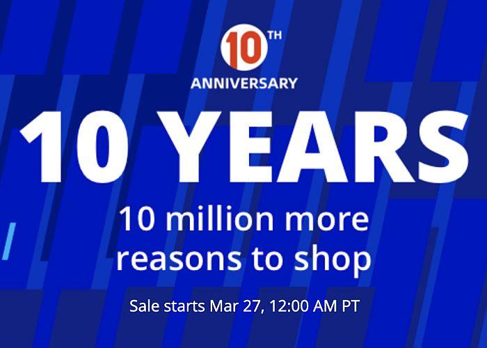 aliexpress 10 aniversario
