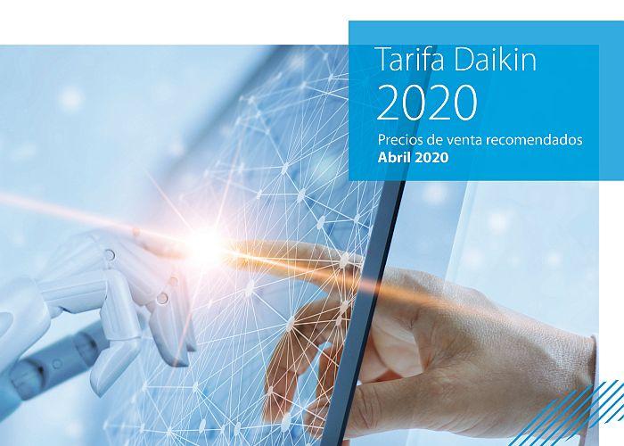 Daikin Tarifa de Precios 2020