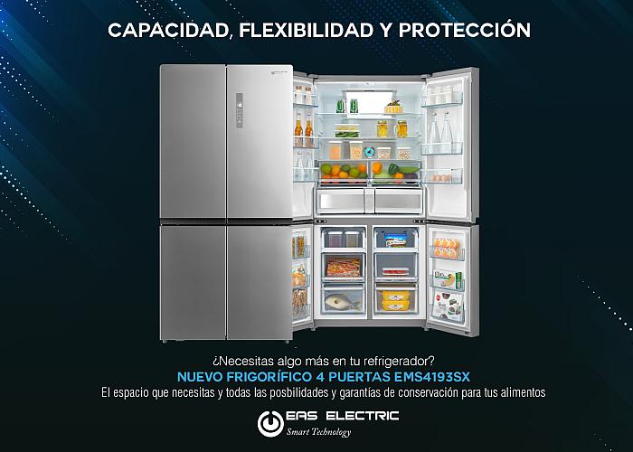 EAS Electric frigorífico cuatro puertas