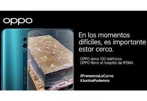 OPPO España dona 100 teléfonos IFEMA