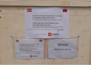 Xiaomi dona España mascarillas