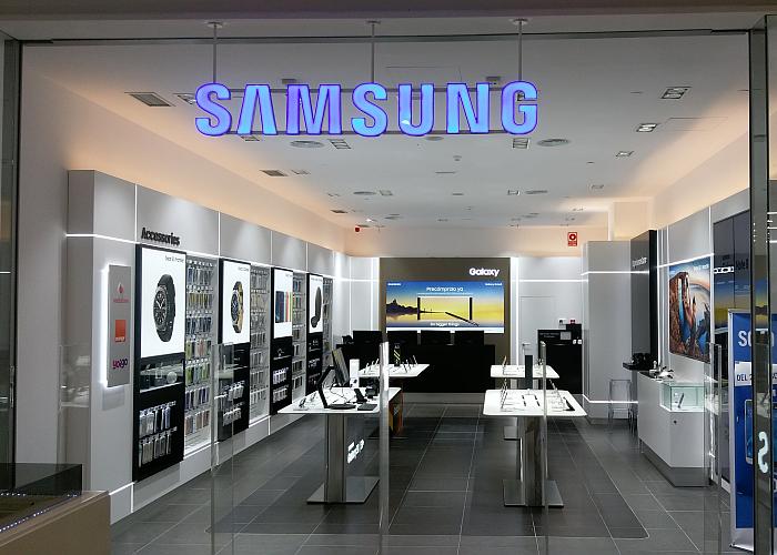 Samsung tienda Maquinista Barcelona robo