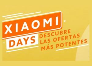 Xiaomi Days PcComponentes promo