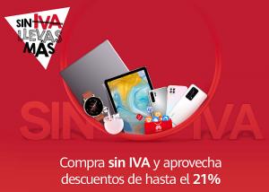 Huawei Día Sin IVA