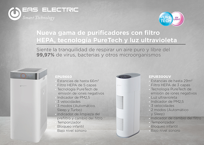 Eas Electric purificadores