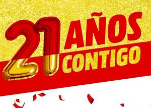 MediaMarkt 21 aniversario
