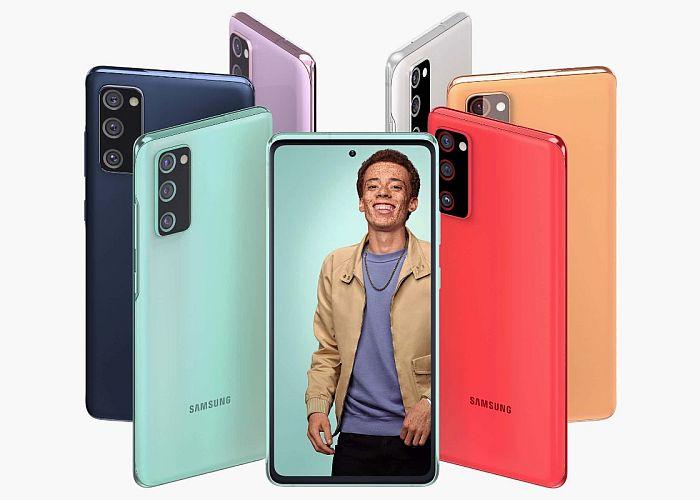 Samsung Galaxy S20 FE roll