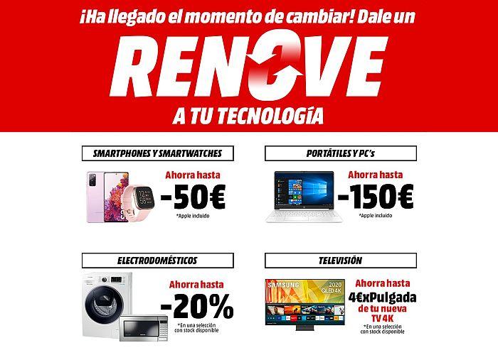 Sonitrón El Plan Renove De Mediamarkt Está Disponible Hasta El 25 De Octubre