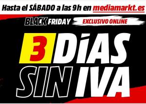 Día Sin IVA MediaMarkt Black Friday