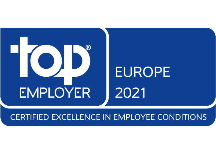 Electrolux Top Employer 2021
