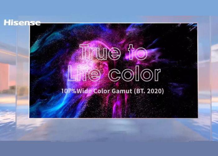 Hisense Tricroma Laser TV