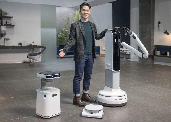 Samsung Robots Daily Life