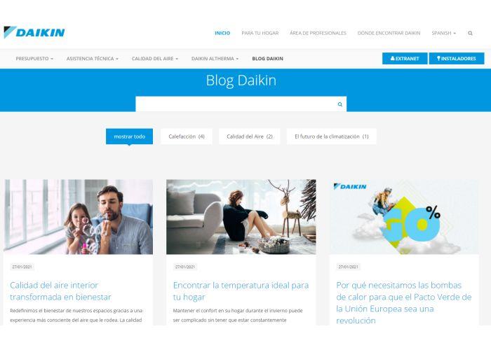 Daikin Blog