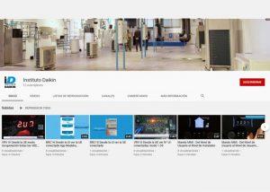 YouTube Instituto Daikin