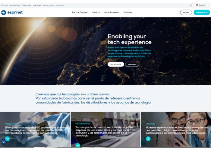 Grupo Esprinet web