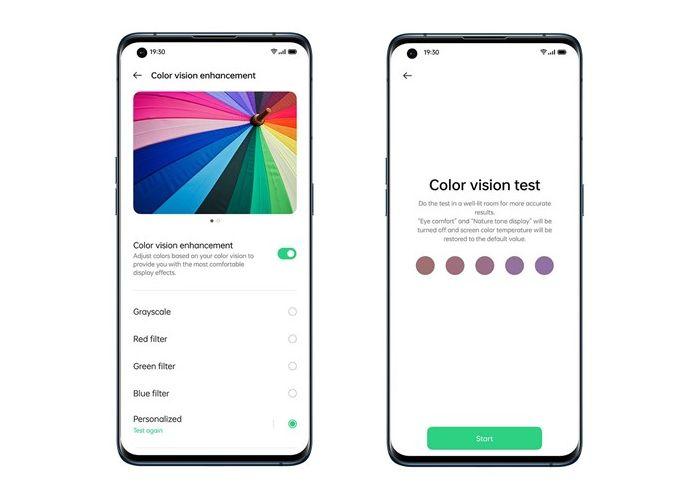 Colour Vision Enhancement Oppo