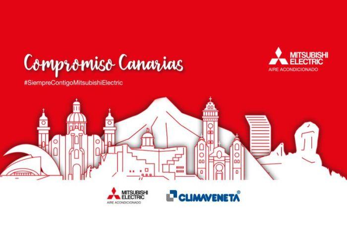 Compromiso Canarias Mitsubishi Electric
