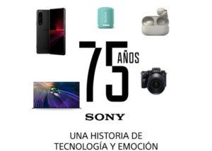 75 años Sony
