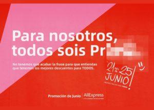 AliExpress Promoción Junio