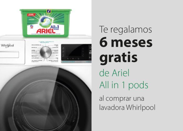 Whirlpool Ariel Promo