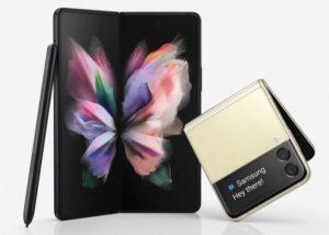 móviles plegables Samsung