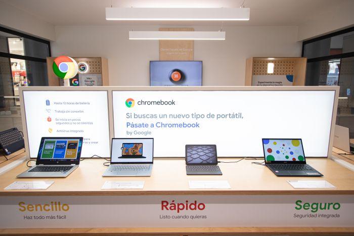 Chromebooks de diferentes firmas