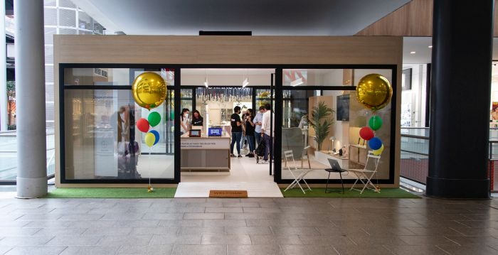 Tienda física temporal de Google en Barcelona