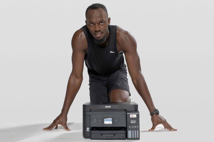Epson y Usain Bolt